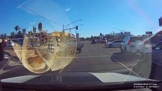 Civilian Crashes into Cop Car