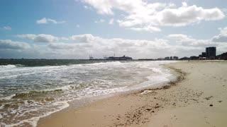 [4k] Beach walk in Melbourne, Australia - St Kilda Beach