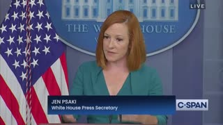 """Jen Psaki Says Biden Would """"Certainly Support"""" States Reimposing COVID Restrictions"""
