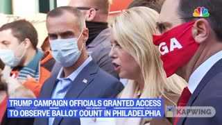 Court Allows Trump Campaign to Observe Ballot Counting in Philadelphia