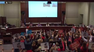 Parents TORCH CRT, School Board Tries to Silence Them, Then Parents ERUPT in Boos
