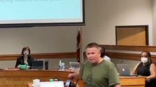 Retired police officer vs School board