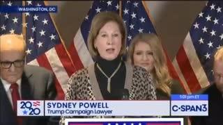 BREAKING : Sydney Powell BOMBSHELL Speech !!