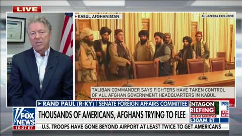 """""""It's Hard to Imagine a More Incompetent Withdrawal"""" Dr. Paul Addresses Afghan Withdrawal"""