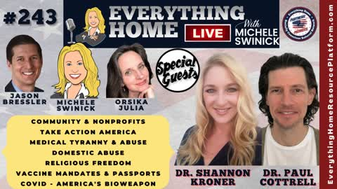 243: DR SHANNON KRONER   COVID-19 Religious Vaccine Exemptions, Rights & Facts, Save America, Abuse