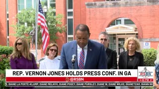GEORGIA ELECTION LAWSUIT HEARING AND PRESS CONFERENCE GUBERNATORIAL CANDIDATE VERNON JONES 7/19/21