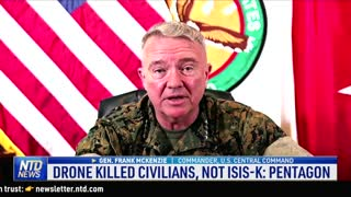 Mayor Shuts Down Bridge Over Migrant Crisis; Drone Killed Civilians, Not ISIS-K: Pentagon | NTD