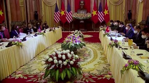 Kamala Harris helps Vietnam