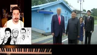 TRUMP A COWARD? - First U.S. President to Enter North Korea