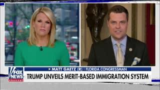 Matt Gaetz reacts to Trump's merit-based immigration system