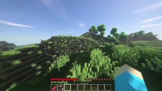 Minecraft Dark forest