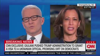 Kamala Harris: I don't know what laws Giuliani broke, but there must be some