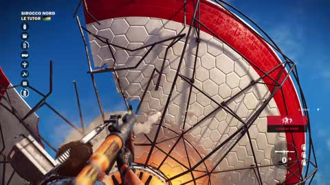 Just Cause 3 Demo Gameplay part 31 Sirocco Nord : Le Tutor Military Base Liberation