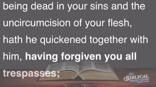 Get Biblical Understanding #67 - Forgiveness