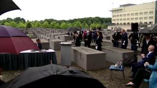 Blinken visits Berlin's Holocaust memorial