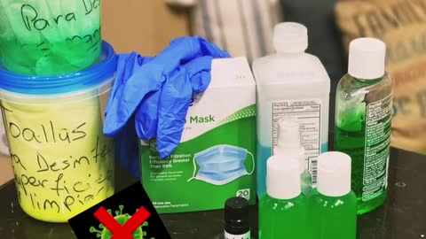 Homemade disinfectant