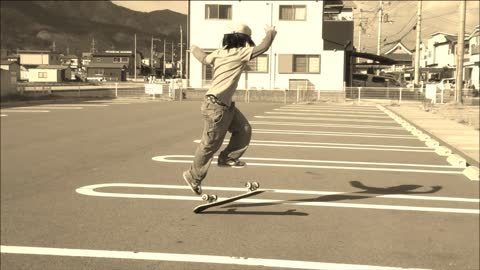 This 12-year-old skateboarder is destined to be a pro