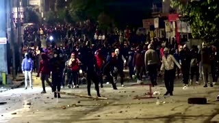 Tunisians protest after Arab Spring anniversary