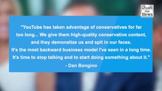 Dan Bongino takes a stand against conservative censorship, invests in video platform Rumble