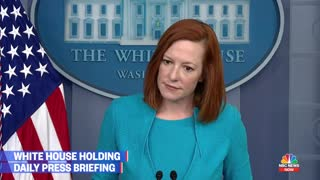 Peter Doocy presses Psaki on overcrowded facilities