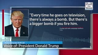 Trump slams Fauci in Campaign Call