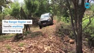 Ford Ranger Raptor off-road Nov 2020