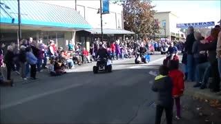 Auburn Veterans Day Parade 2014