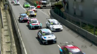 MASSIVE CAR CRASH - WTCR Race 1