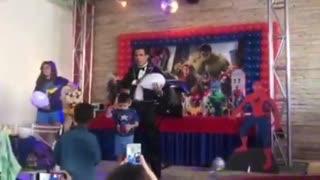 Skarlone magician from Brazil