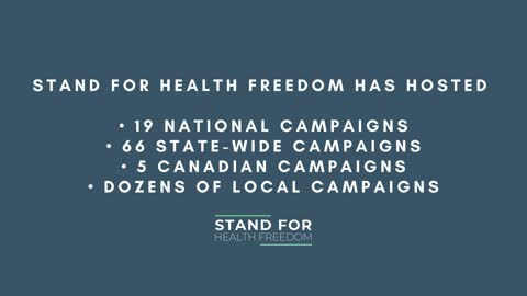 Generational Impact through Stand for Health Freedom