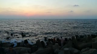 Beauty Sky With SunSet In Ras El Bar