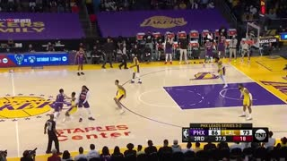 Los Angeles LAKERS vs. PHOENIX Sun full game highlights 2021 game play offs