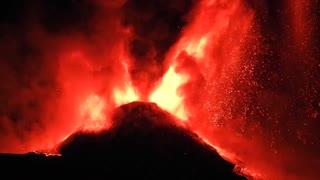 Mt. Etna Eruption Sicily [Feb 22-23, 2021]