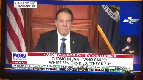 Como killing off our elderly. New York nursing homes