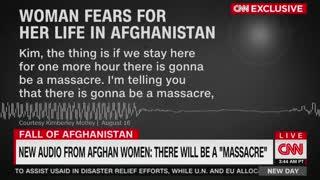 Afghan Women Hide From Taliban