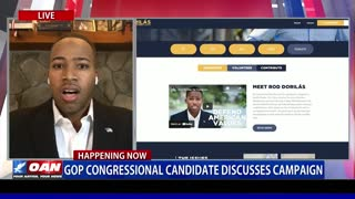 GOP congressional candidate discusses campaign