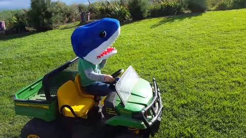Introducing the Lawn Shark