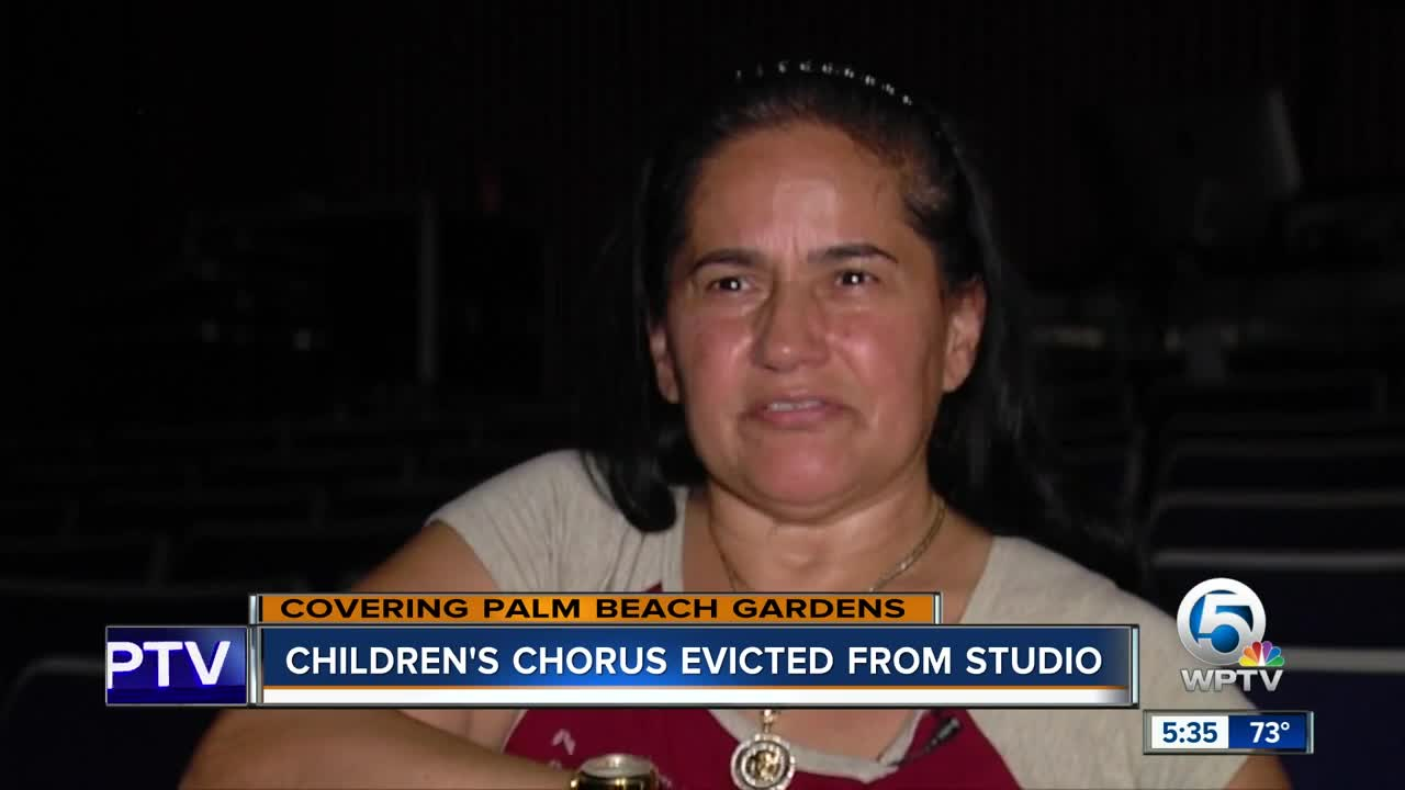 Children's choir being evicted a month before their Christmas performance