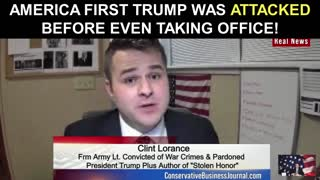 America First Trump Was Attacked BEFORE Even Taking Office!