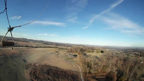 December 23rd Balloon Flight in Time Lapse.