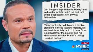 MSNBC analyst attacks Dan Bongino