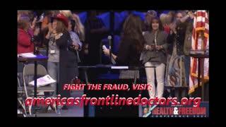 America's Frontline Drs. - Stop Being Batshit Crazy! Simone Gold