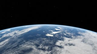A view of planet earth from outer space