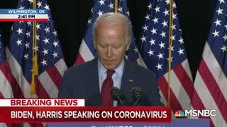 Joe Biden calls for national mandate for every American to wear a mask when outdoors