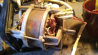 Disassemble the electric motor