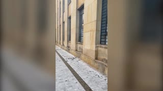 Daños en la infracestructrua Palacio