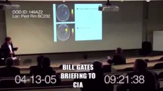 2005: Bill Gates CIA Briefing