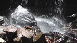 Waterfalls Splash Sound