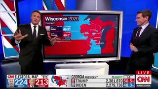 Video Evidence of Voter Software Fraud - Wisconsin (WI) Vote Spike