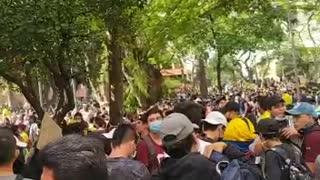 Protesta en San Pío   5M
